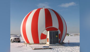 Picture of Air Supported Radomes